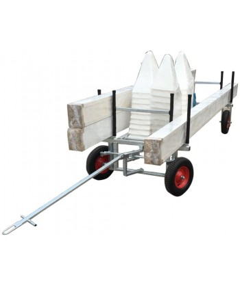 Dressage arena trolley