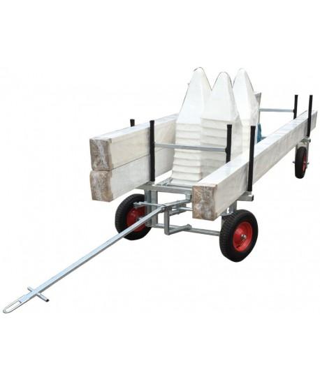 Dressage arena trolley