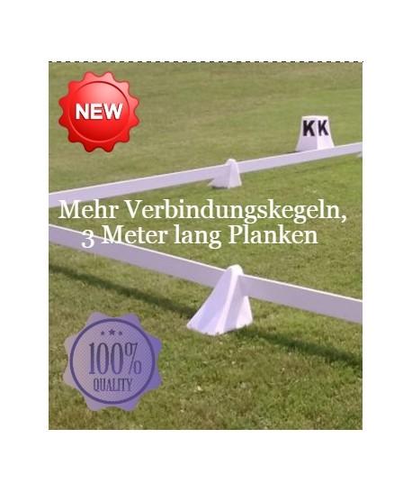 """""""Stabiler"""" Dressurviereck (mehr Verbindungskegeln und Planken)"""