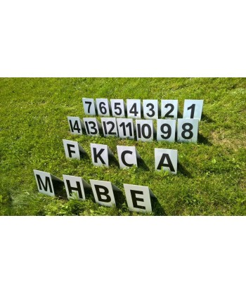 Hindernisnummerierungen